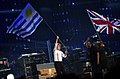 Uruguay and British Flags - Paul McCartney - ON THE RUN - Uruguay, 2012-04-16 (4).jpg
