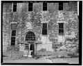 VIEW NORTH, DOOR DETAIL, KITCHEN WING - Southern Ohio Lunatic Asylum, 2335 Wayne Avenue, Dayton, Montgomery County, OH HABS OHIO,57-DAYT,5-7.tif