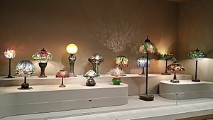 Tiffany lamp - Collection of Tiffany Lamps from the Virginia Museum of Fine Arts