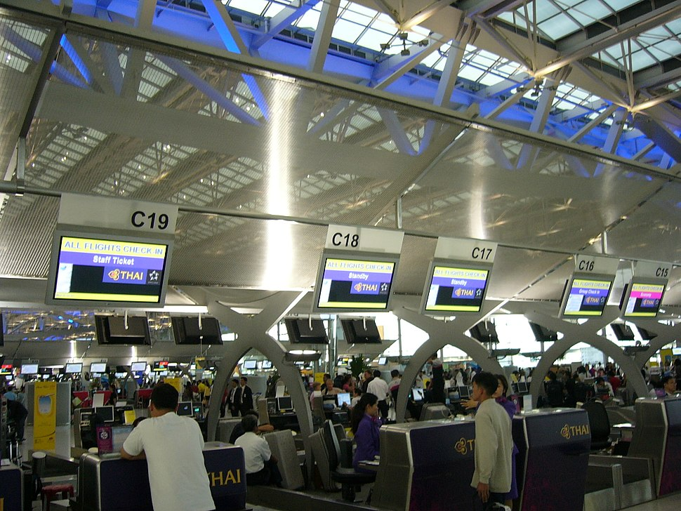 VTBS-Thai Airways Check-in counters