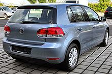 VW Golf VI 20090905 rear-1.JPG