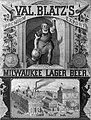 Val. Blatz's Milwaukee Lager Beer 1879.jpg