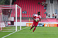Valais Cup 2013 - OM-FC Porto 13-07-2013 - Brice Samba 1.jpg