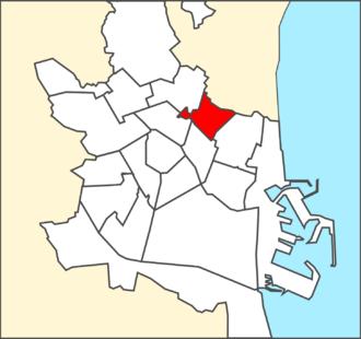 Benimaclet - Location of Benimaclet, in Valencia