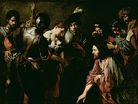 Valentin de Boulogne - Christ and the Adulteress - Google Art Project.jpg