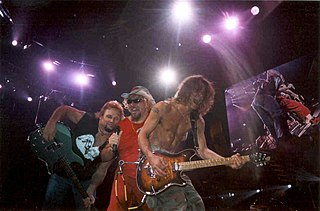 Summer Tour 2004 (Van Halen) hard rock concert tour