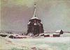 Van Gogh - Der alte Friedhofsturm in Nuenen im Schnee.jpeg