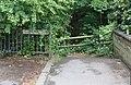 Vanderbyl Avenue entrance to Dibbinsdale LNR.jpg