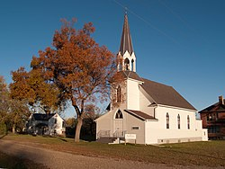 Vang Evangelical Lutheran Church in Manfred