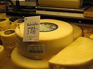 Västerbotten cheese - Image: Vasterbotten cheese