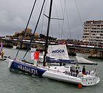 Vendée Globe 2012-2013 Dominique Wavre Mirabaud 2.jpg