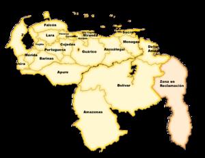 basado en :Image:Venezuela politica.