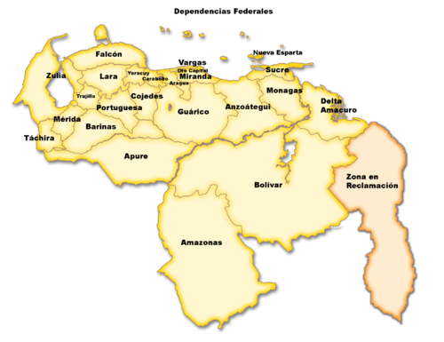 Gobernador de Venezuela - Wikipedia, la enciclopedia libre