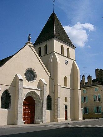 Verdun-sur-le-Doubs - Image: Verdun sur le Doubs église St Jean