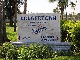 Holman Stadium (Vero Beach) - Dodgertown