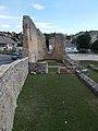 Veszprém 2016, Margit-romok, északi fal.jpg