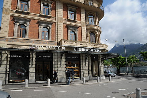 Louis Vuitton store in Lugano, Switzerland. Via Nassa 31 Lugano 2.JPG