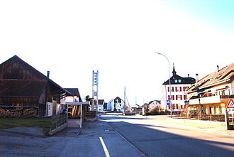 Vicques, Switzerland - Vicques village