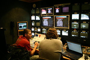 Southern Nazarene Crimson Storm - Event production at the video switcher