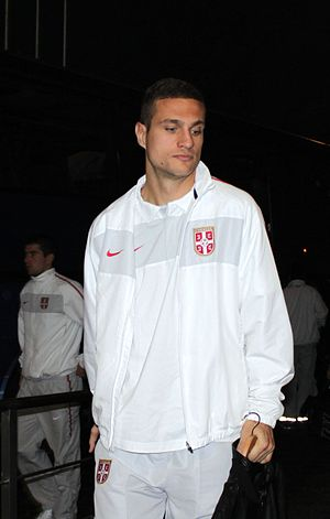 Nemanja Vidić - Vidić on international duty in November 2010