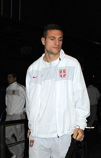 Serbia national football team - Nemanja Vidić, famous Serbian defender, two times FIFA World XI