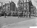Viering van het 10 jarig bestaan van de NATO in Mainz met een militaire parade,, Bestanddeelnr 910-2729.jpg