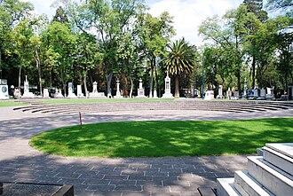 Panteón de Dolores - View of the Rotunda