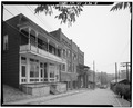 View Northeast, Streetscape - McGinnis Hotel, 204 Collins Avenue, Pennsboro, Ritchie County, WV HABS WVA,43-PENBO,1-5.tif