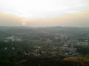 Pathanamthitta - View of Pathanamthitta