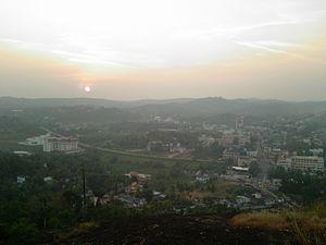 Pathanamthitta - View of Pathanamthitta
