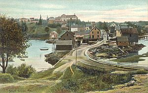 South Bristol, Maine - Image: View of South Bristol, ME