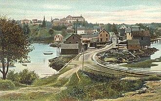South Bristol, Maine - Image: View of South Bristol, ME