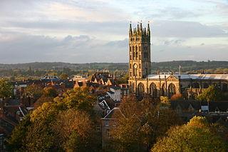 Warwick County town of Warwickshire, England