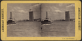 View of a steamer and Brooklyn Bridge tower, from Robert N. Dennis collection of stereoscopic views.png