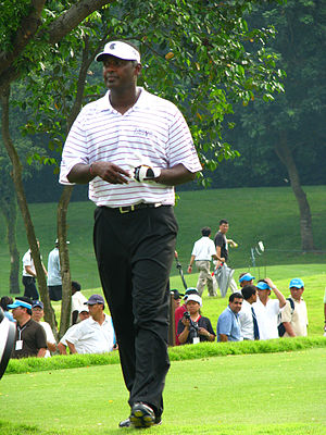 English: The Fijian professional golfer Vijay ...