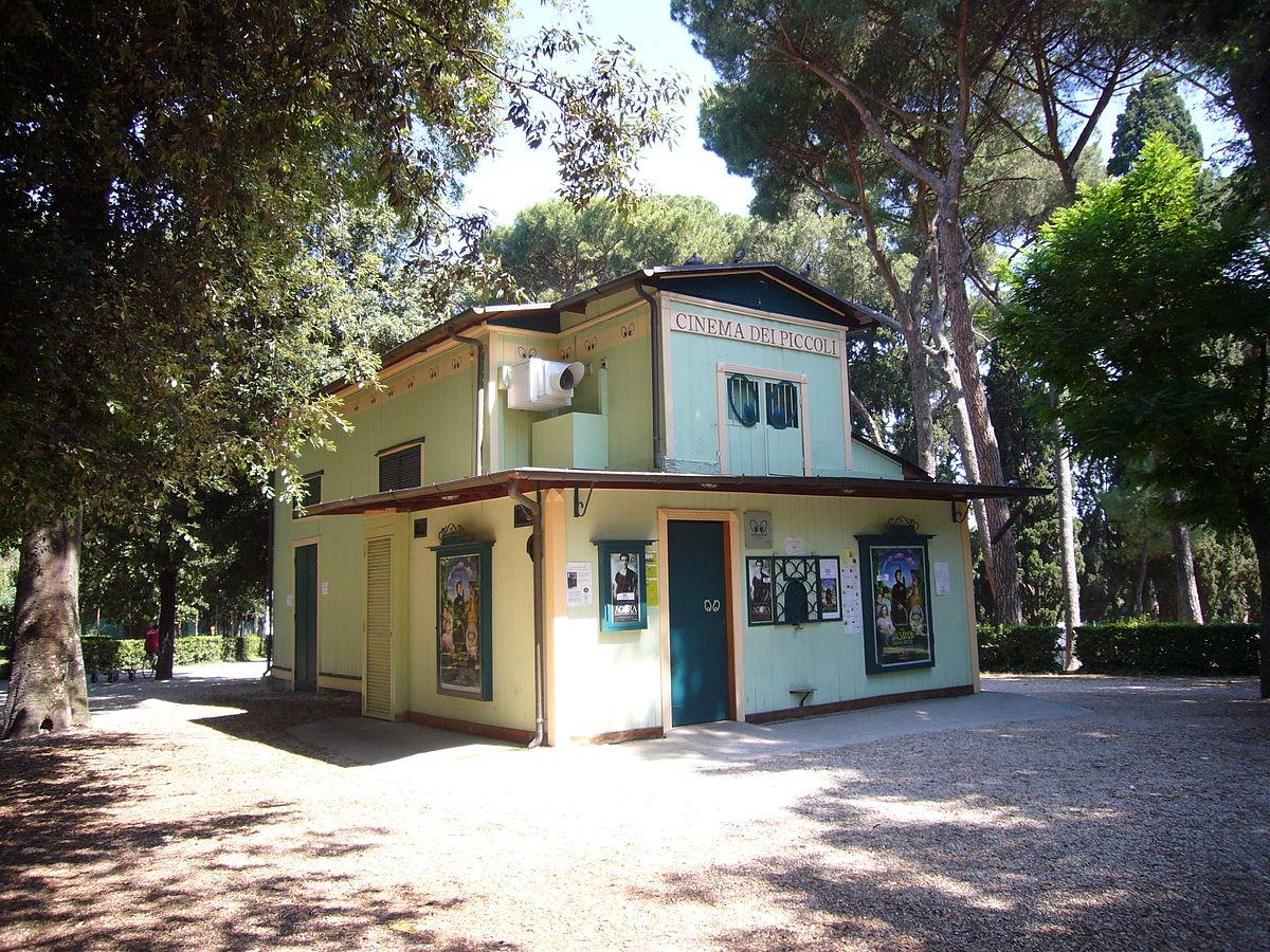 Cinema Dei Piccoli Villa Borghese Roma