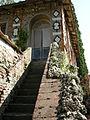 Villa reale di marlia, grotta del dio pan, esterno 08 scalinata.JPG