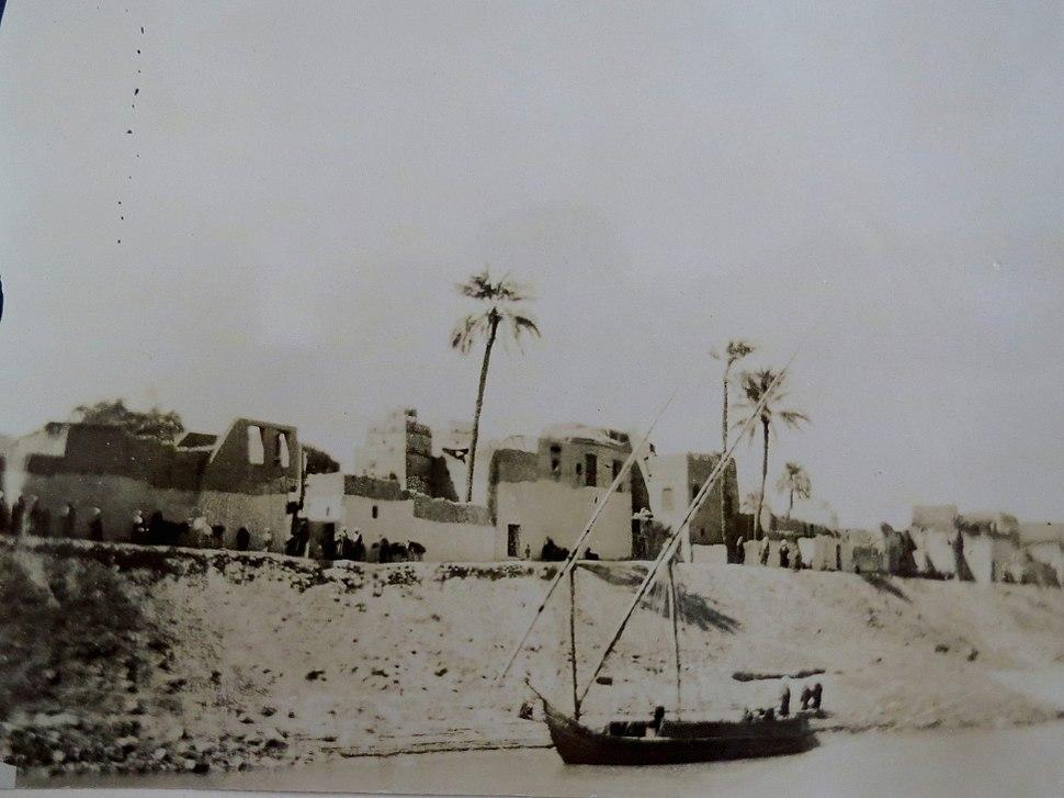 Village on the Nile, 1891