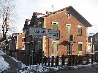 Collegno - The Leumann Village in Collegno.