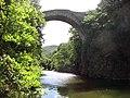 Villemagne-l'Argentière (Hérault, Fr) pont du diable sur la Mare (h).JPG