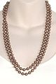 Vintage brown marroon glass pearl necklace 3.jpg