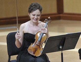 Kevin Kwan Loucks - Violinist Iryna Krechkovsky