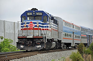 Virginia Railway Express - Image: Virginia Railway Express train