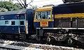 Visakhapatnam based WDG 4 Locomotive spotted at Secunderabad.jpg