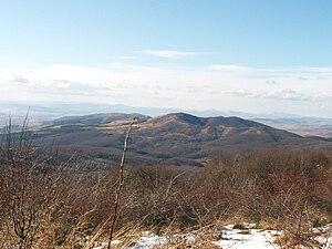 Viskyar Mountain - Viskyar Mountain from Lyulin Mountain