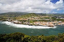 Vista parcial da cidade da Horta apartir do Monte da Guia, Concelho da Horta, ilha do Faial, Açores, Portugal.JPG