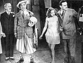 Constantin Tănase - Constantin Tănase (second from left) starring in Visul lui Tănase (Tănase's Dream), 1932
