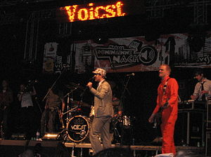 Voicst - Voicst during Queen's night in The Hague, the Netherlands