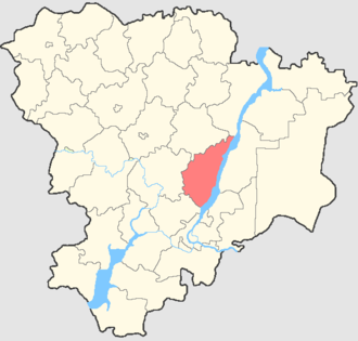 Dubovsky District, Volgograd Oblast - Image: Volgogradskaya oblast Dubovsky rayon
