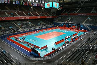 Earls Court Exhibition Centre - Earls Court hosted the volleyball matches during the 2012 Summer Olympics.